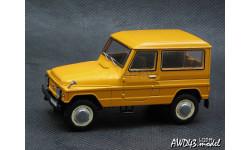 Москвич 2150 АЗЛК 4x4 оранжевый 1-43 Prommodel43