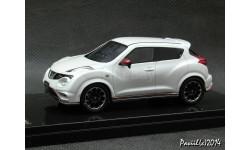 Nissan Juke Nismo 4x4 white 1-43 Wit's