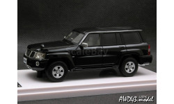 Nissan Safari Grand Road Limited 2004 4x4 black 1-43 WIT's