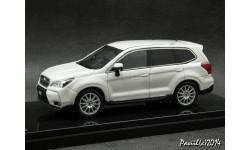 Subaru FORESTER 2.0XT STI w-Parts Satin White Pearl 4x4 1-43 Wit's