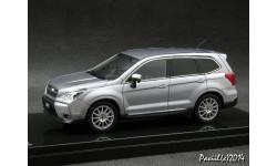 Subaru FORESTER 2.0XT STI wParts Ice Silver Metallic 4x4 1-43 Wit's