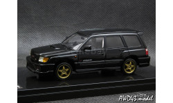 Subaru Forester STI II type M Black 4x4 1-43 WIT's