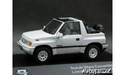 Suzuki Vitara 1.6 JLX 4x4 Convertible 1992 white 1-43 Triple9, масштабная модель, 1:43, 1/43