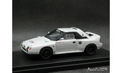Toyota 222D Gr.B Prototype 1980 white 1-43 Wit's