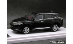 Toyota HARRIER PREMIUM 'Advanced Package' Black 1-43 Wit's, масштабная модель