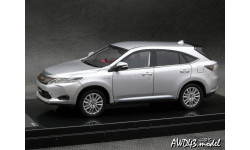 Toyota HARRIER PREMIUM 'Advanced Package' Silver Metallic  1-43 Wit's, масштабная модель