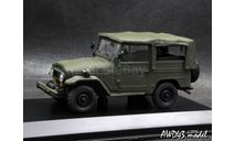 Toyota Land Cruiser 40 Military 1960-84 1-43 Altaya conversion, масштабная модель, Handmade, scale43