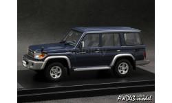 Toyota Land Cruiser 70 2014 d.blue 4x4 1-43 Hi-Story, масштабная модель, 1:43, 1/43