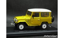 Toyota Land Cruiser BJ40 4x4 yellow 1-43 Norev, масштабная модель, 1:43, 1/43