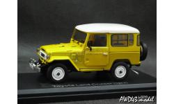 Toyota Land Cruiser BJ40 4x4 yellow 1-43 Norev