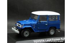Toyota Land Cruiser BJ40 LHD 4x4 blue 1-43 Norev