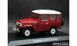 Toyota Land Cruiser BJ40 RHD 4x4 red 1-43 Norev, масштабная модель, 1:43, 1/43