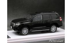 Toyota Land Cruiser Prado 150 Black 1-43 Wit's