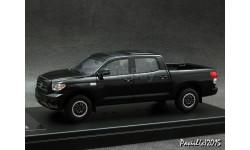 Toyota TUNDRA CREWMAX 2008 Sports Custom Black 4x4 1-43 Hi-Story