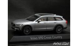 Volvo V90 Cross Country 2017 Savile Grey 1-43 Norev 870067, масштабная модель, scale43