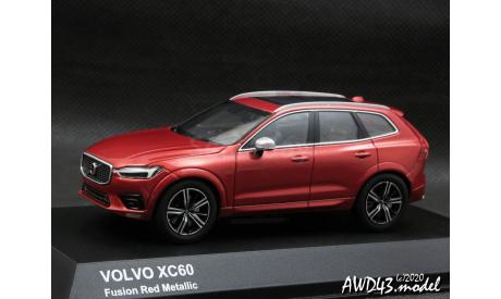 Volvo XC60 2018 4WD red 1-43 Kyosho 03672R, масштабная модель, scale43