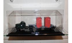 ГАЗ 51П с полуприцепом Т-213 DIP, масштабная модель, DiP Models, 1:43, 1/43