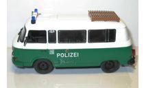 1/43 Barkas B1000 POLIZEI (Полицейские машины мира №63), масштабная модель, scale43, Полицейские машины мира, Deagostini