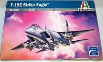 1/72 F-15E Strike Eagle (0166) Italeri (сборная модель), сборные модели авиации, scale72