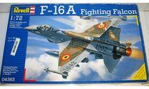 1/72 F-16A Fighting Falcon (04363) Revell (сборная модель), сборные модели авиации, scale72