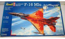 1/72 F-16 MLU 'Solo Display' (03980) Revell (сборная модель), сборные модели авиации, scale72