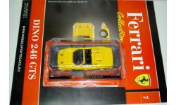 1/43 Ferrari Dino 246 GTS (Ferrari Collection №7), масштабная модель, scale43, Ferrari Collection (европейская серия)