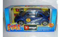 1/43 Volkswagen New Beetle Cup №1 (Bburago), масштабная модель, 1:43