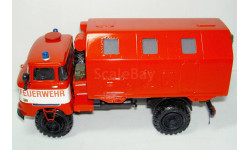 1/43 IFA W50LA 4х4 кунг LAK II Feuerwehr 1971 (Киммерия)