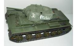 1/35 Тяжёлый танк КВ-1С (Tamiya) собранная модель