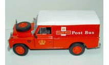 1/43 Land Rover Series III 109 Royal Mail Post bus (Cararama), масштабная модель, 1:43, Bauer/Cararama/Hongwell