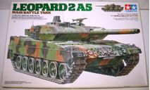 1/35 Leopard 2A5 (35242) Tamiya, НЕКОМПЛЕКТ, сборные модели бронетехники, танков, бтт, scale35