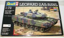 1/72 Leopard 2A5/A5NL (03187) Revell (сборная модель), сборные модели бронетехники, танков, бтт, scale72