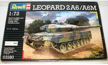 1/72 Leopard 2A6/A6M (03180) Revell (сборная модель), сборные модели бронетехники, танков, бтт, scale72