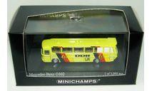 1/160 Mercedes-Benz O302 bus World Cup 1974 DDR team (Minichamps), масштабная модель, scale160