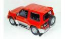 1/43 Mitsubishi Pajero Evolution (Cararama) красный, масштабная модель, scale43, Bauer/Cararama/Hongwell