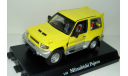 1/43 Mitsubishi Pajero Evolution (Cararama) жёлтый, масштабная модель, scale43, Bauer/Cararama/Hongwell