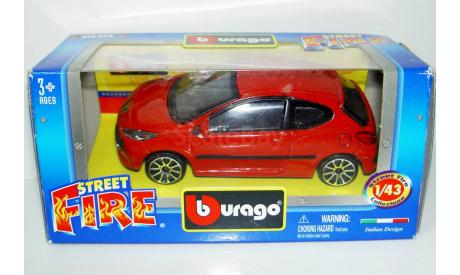 1/43 Peugeot 207 (Bburago), масштабная модель, 1:43