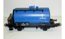 1/87 Платформа-цистерна двухосная Aral DB Ep.III (PIKO 57719) с недостатком