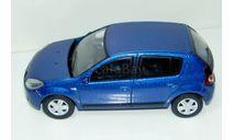 1/43 Renault Sandero 2009 (Keng Fai Toys) без коробки, масштабная модель, scale43