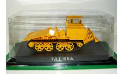1/43 Трактор трелевочный ТДТ-55А (Hachette) без журнала, масштабная модель трактора, Тракторы. История, люди, машины. (Hachette collections), 1:43