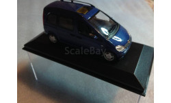 Mercedes-benz  Vaneo w 414 2001г, масштабная модель, 1:43, 1/43, Minichamps