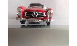 Mercedes-benz 300 SL cabriolet red