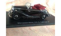 Mercedes-benz 170 S cabriolet B, масштабная модель, 1:43, 1/43, Spark Minimax