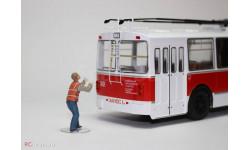Фигурка 1/43 Водитель троллейбуса. от OPUS studio, фигурка, 1:43