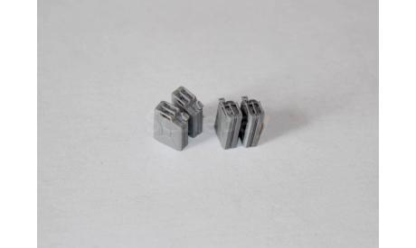 Канистра 20л. металлическая. масштаб 1:43. Комплект 4шт., элементы для диорам