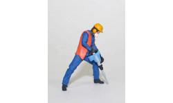 Рабочий с электро отбойным молотком. масштаб 1:43, фигурка, OPUS studio, 1/43