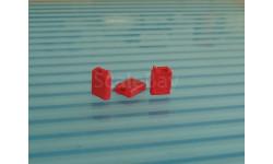 Канистра 20л. пластмассовая  красная. масштаб 1:43