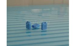 Канистра 20л. пластмассовая  синяя №2 . масштаб 1:43