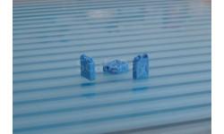 Канистра 20л. пластмассовая  синяя. масштаб 1:43