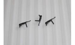 Пистолет-пулемёт МР-40  Комплект 3шт. Масштаб 1:43